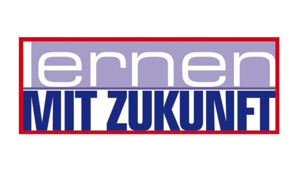 """Das Logo der österreichischen Initiative """"Lernen mit Zukunft"""""""